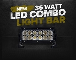 GEN 36W SPOT/FLOOD LED BAR